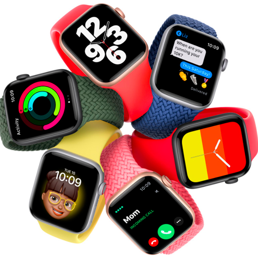 Apple Watch 6 презентация