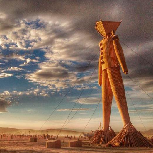Фестиваль Burning man пройдет в онлайн формате