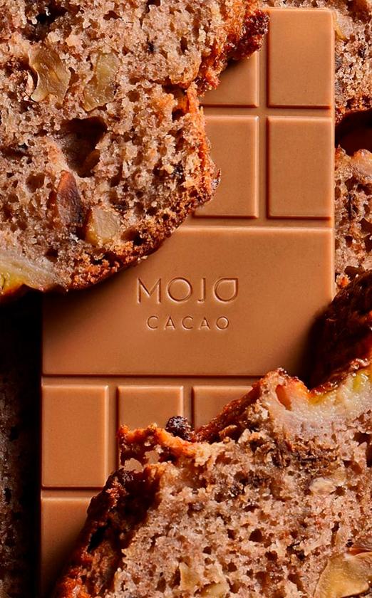 mojo cacao и саша новикова выпустили шоколад со вкусом бананового хлеба
