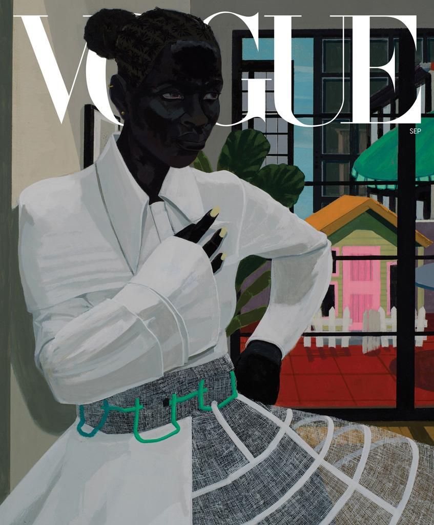 обложка журнала vogue