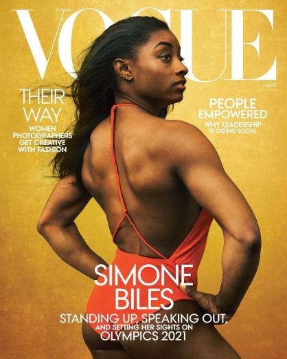 Vogue USA август обложка