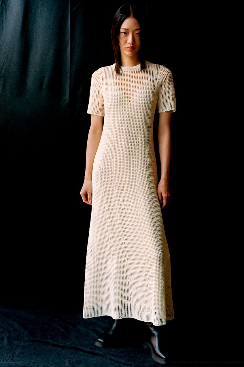 cos длинное платье