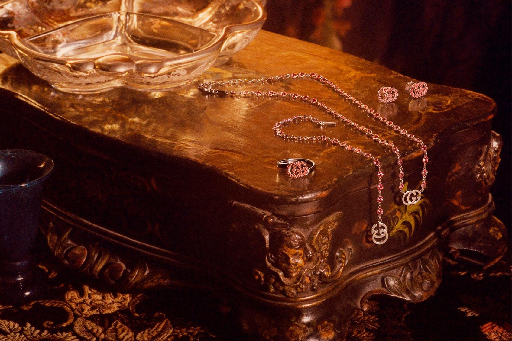 gucci выпустил коллекцию украшений