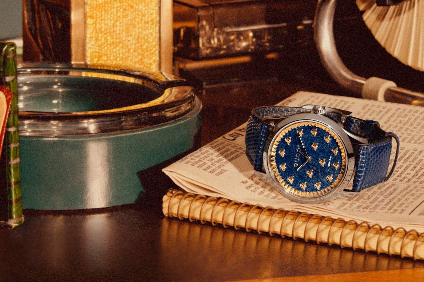 gucci выпустил коллекцию часов и ювелирных украшений