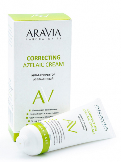 Крем-корректор азелаиновый Azelaic Correcting Cream от Aravia Laboratories
