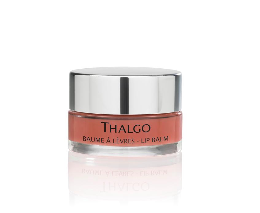 розовый бальзам для губ Thalgo