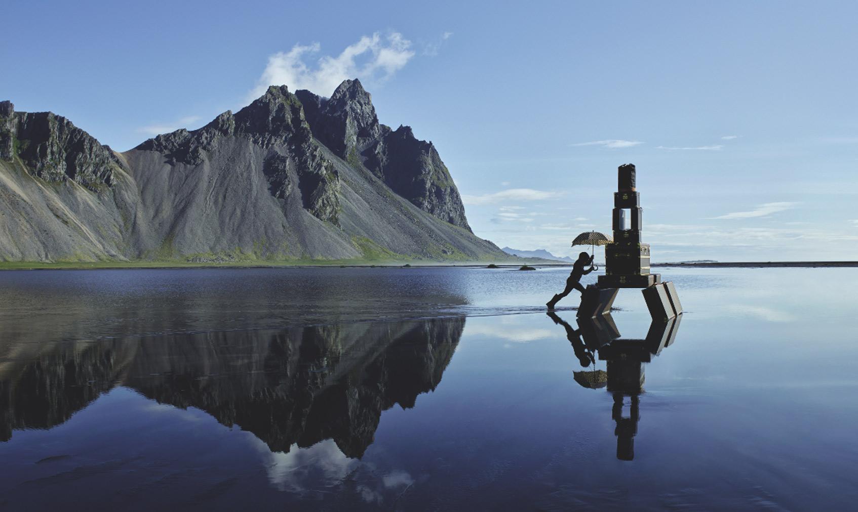 louis vuitton исландские пейзажи