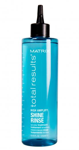 Ламеллярная вода Rinse Shine из гаммы High Amplify от Matrix