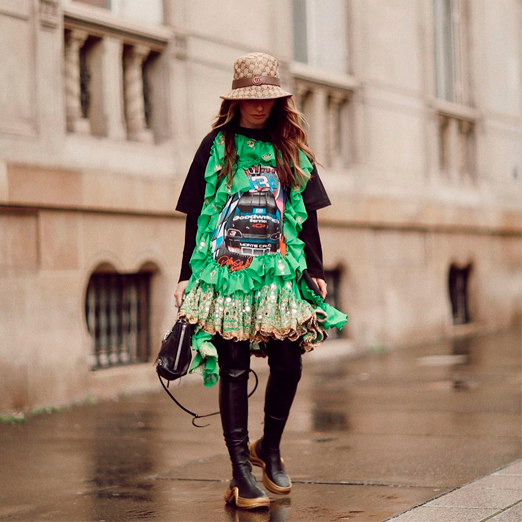 блоги о моде в инстаграме