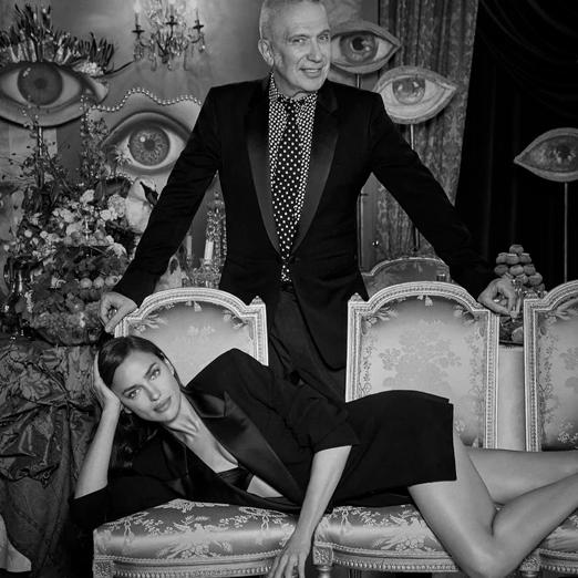 Ирина Шейк снялась в кампании нового аромата от Jean Paul Gaultier