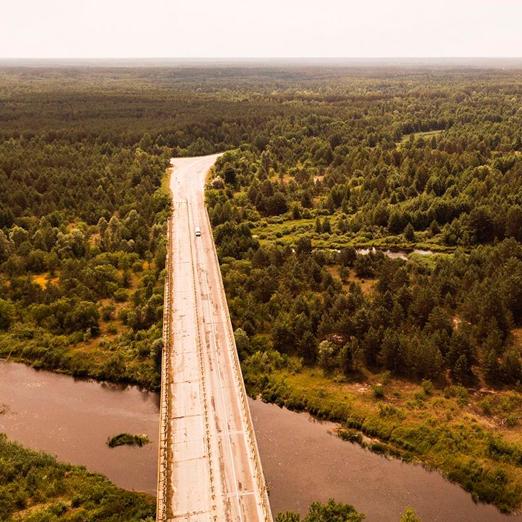 в чернобыле открыли первый велосипедный маршрут