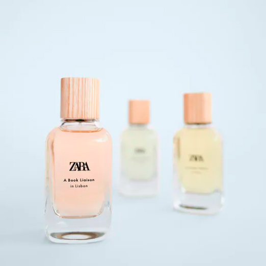 новый парфюм от zara