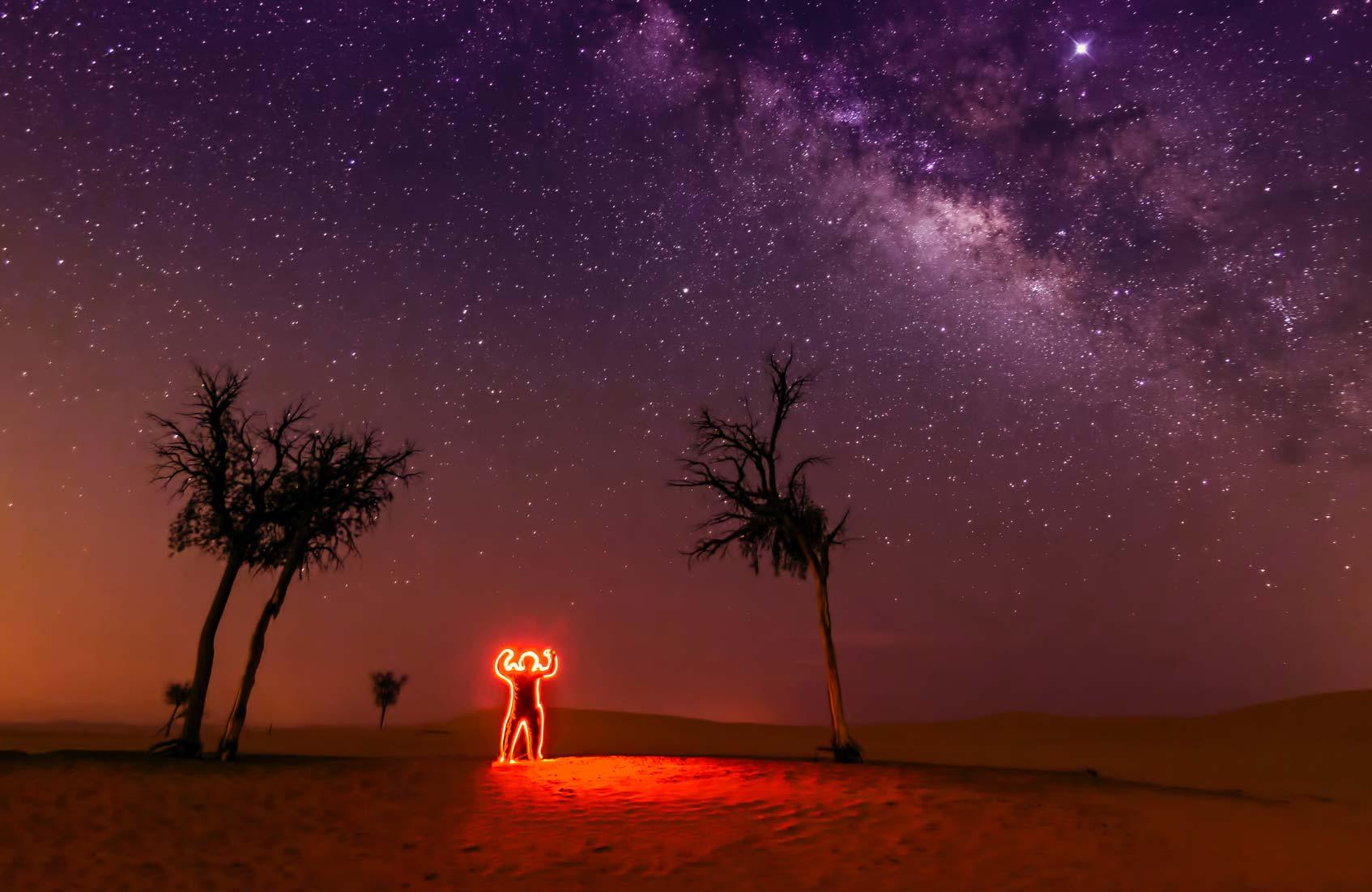 абу даби пустыня
