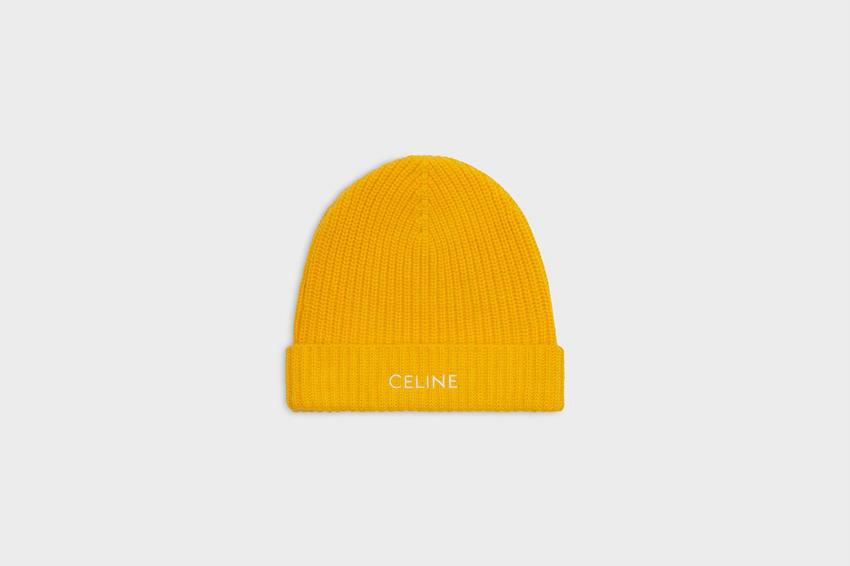 шапка celine