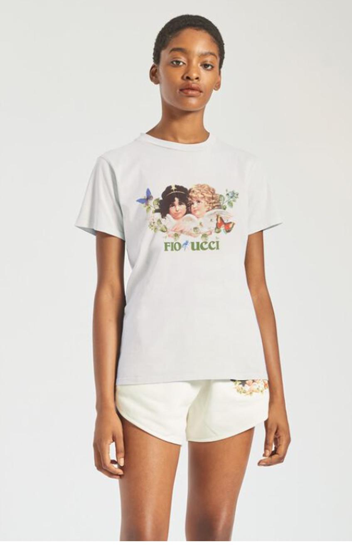 футболка fiorucci