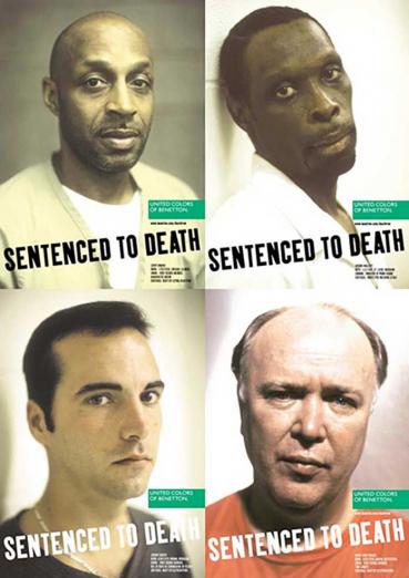 реклама приговоренных к казни United Colors of Benetton