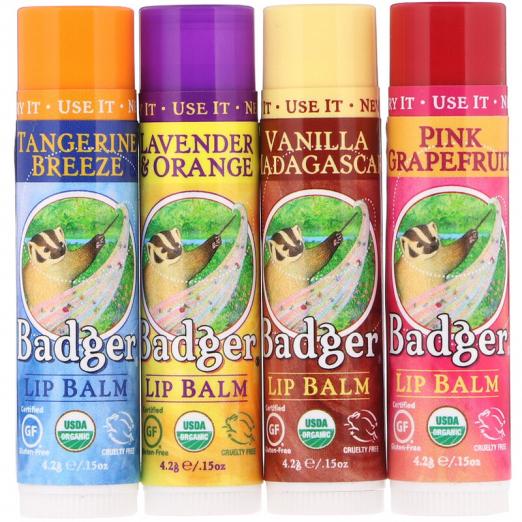 Бальзам для губ Badger Company