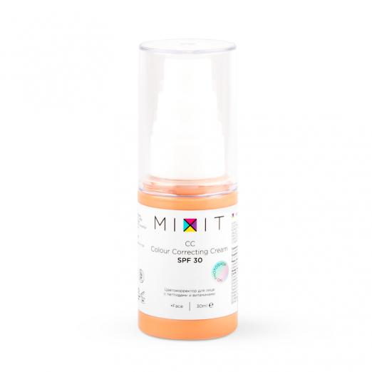 Мультифункциональный CC-крем для лица SPF30 от Mixit