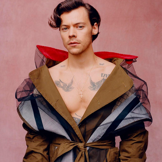 Гарри Стайлз стал первым мужчиной, попавшим на обложку Vogue в одиночку