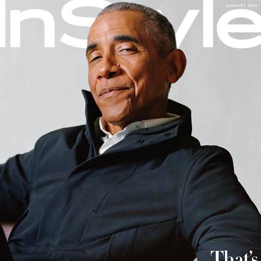 Барак Обама снялся для обложки американского InStyle
