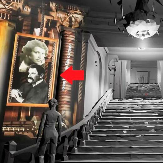 РАМТ открыл мультимедийную выставку-инсталляцию к столетию театра