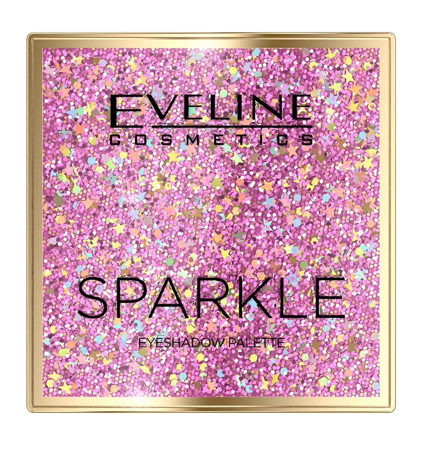 палетка теней Sparkle от Eveline