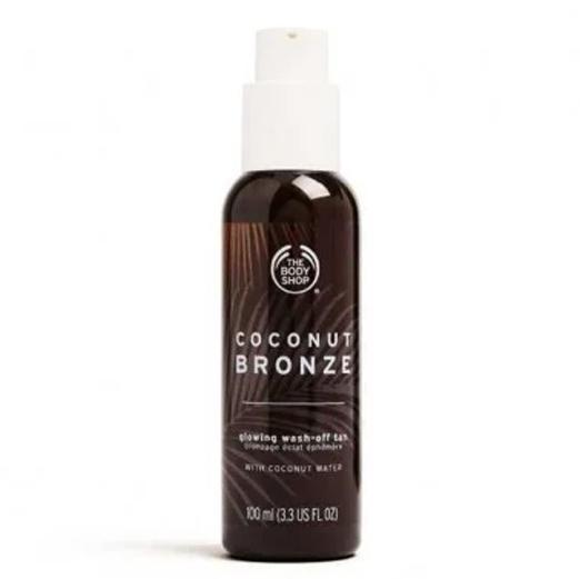 Молочко с бронзирующим эффектом Coconut Bronze от The body shop