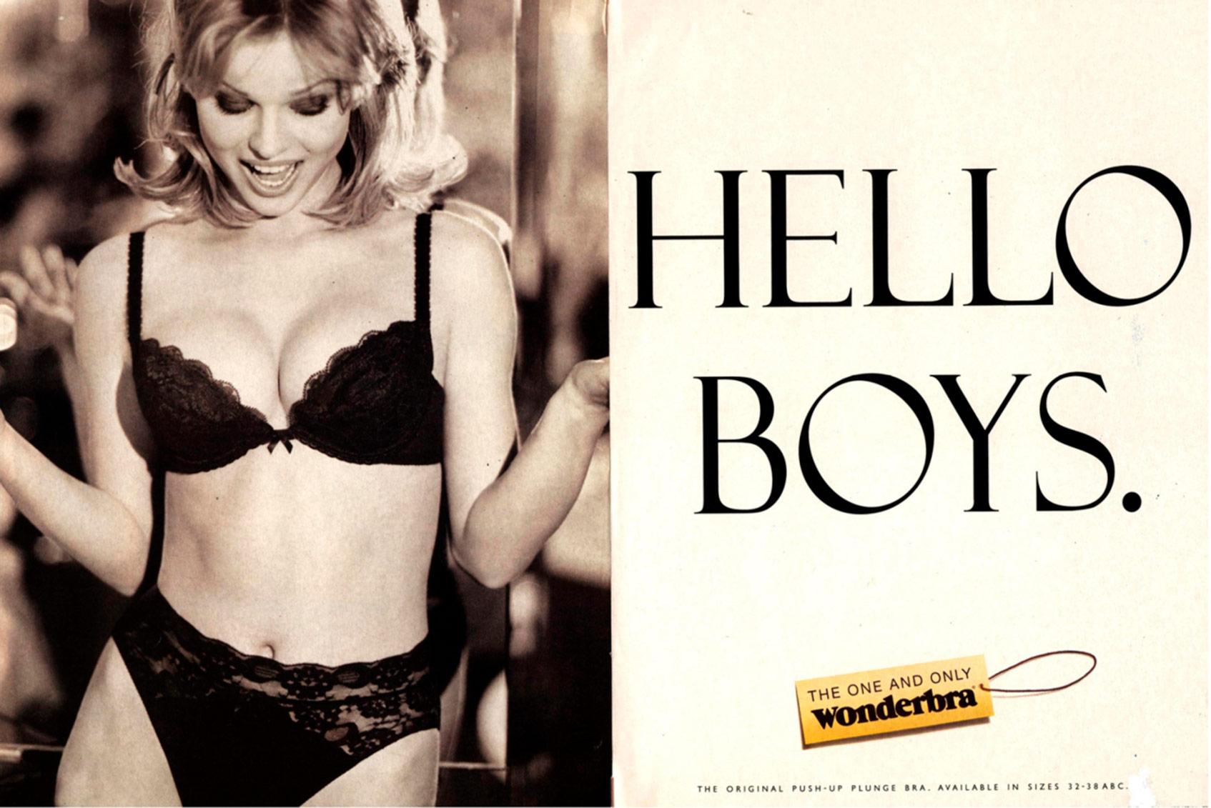 реклама Wonderbra