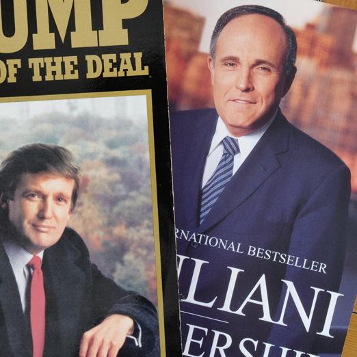 книги о Дональде Трампе