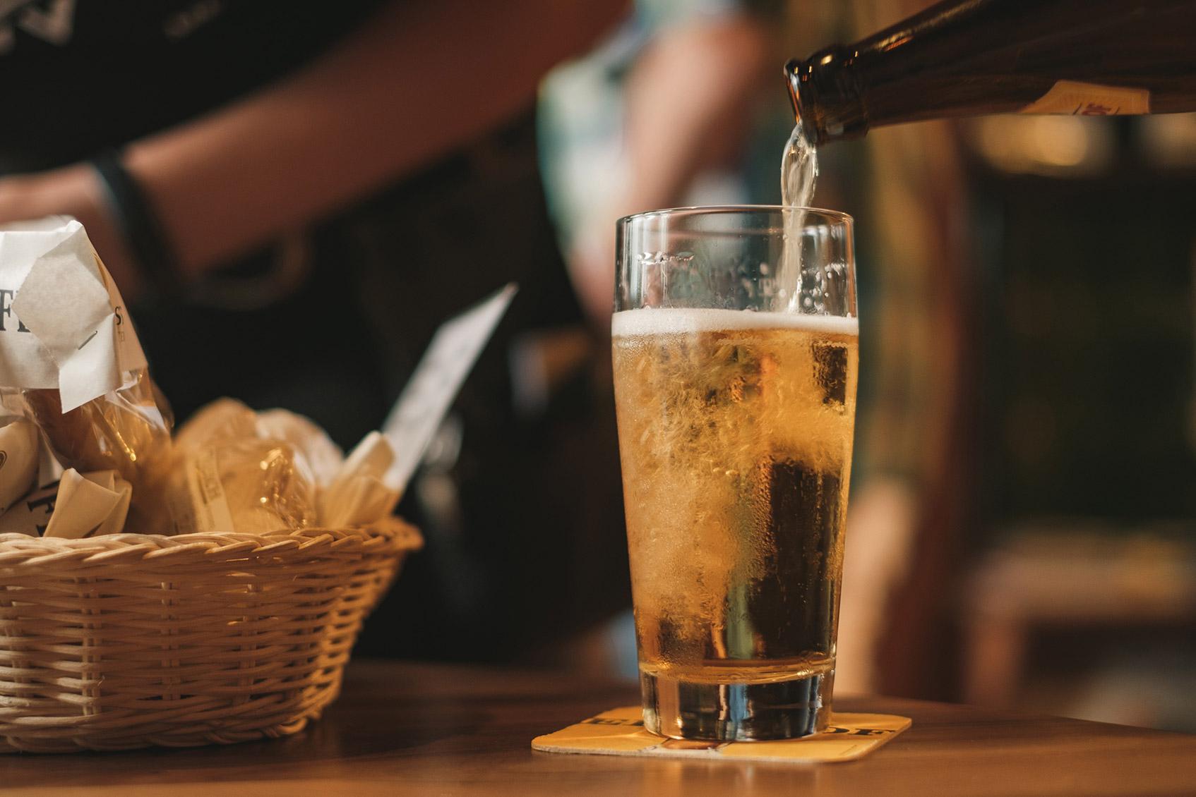 где пить пиво в москве