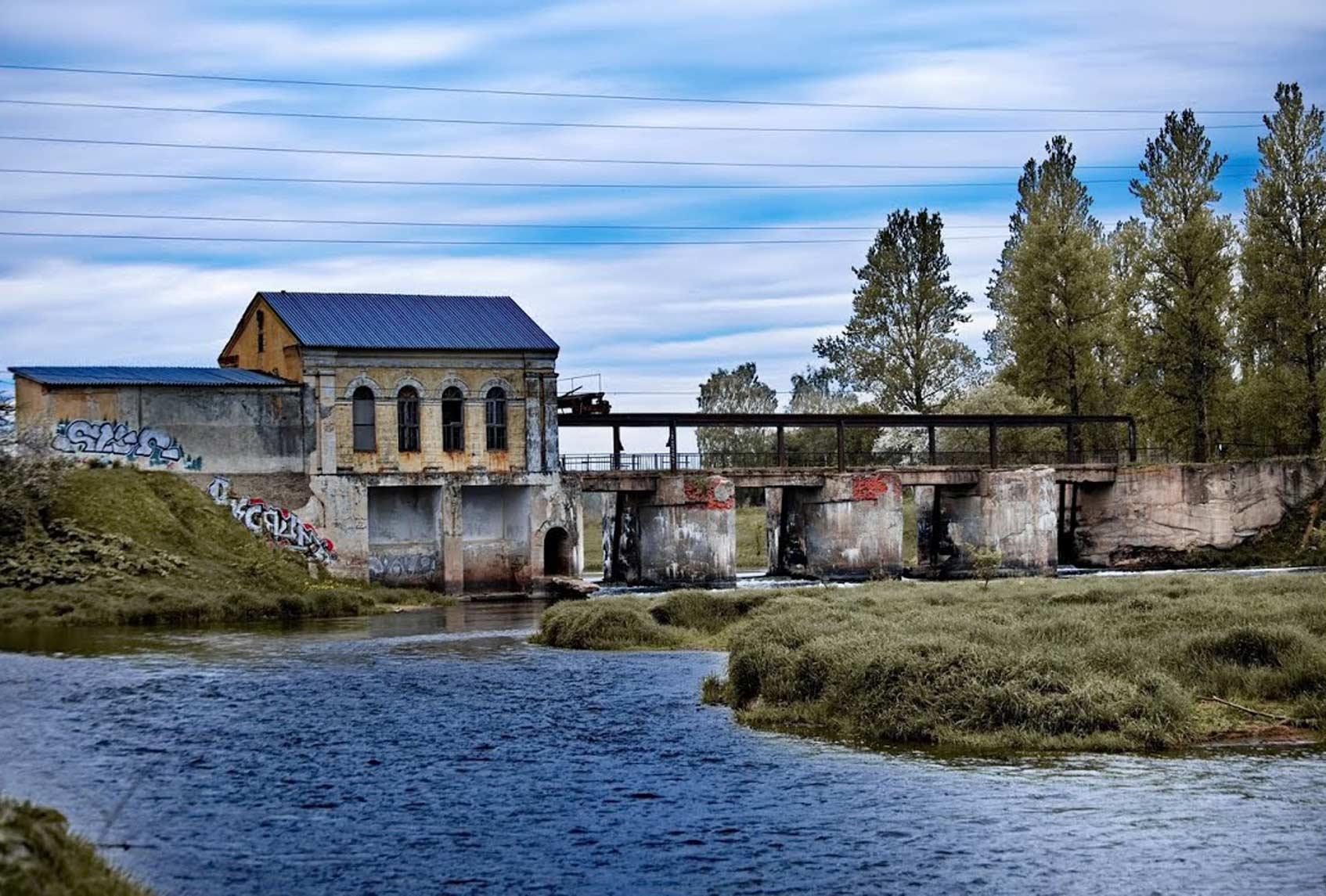 заброшенная Горбовская ГЭС