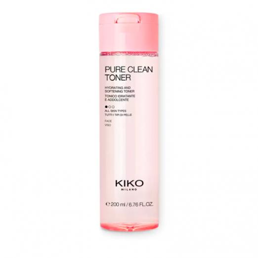 Увлажняющий и смягчающий тоник Pure clean toner от Kiko Milano
