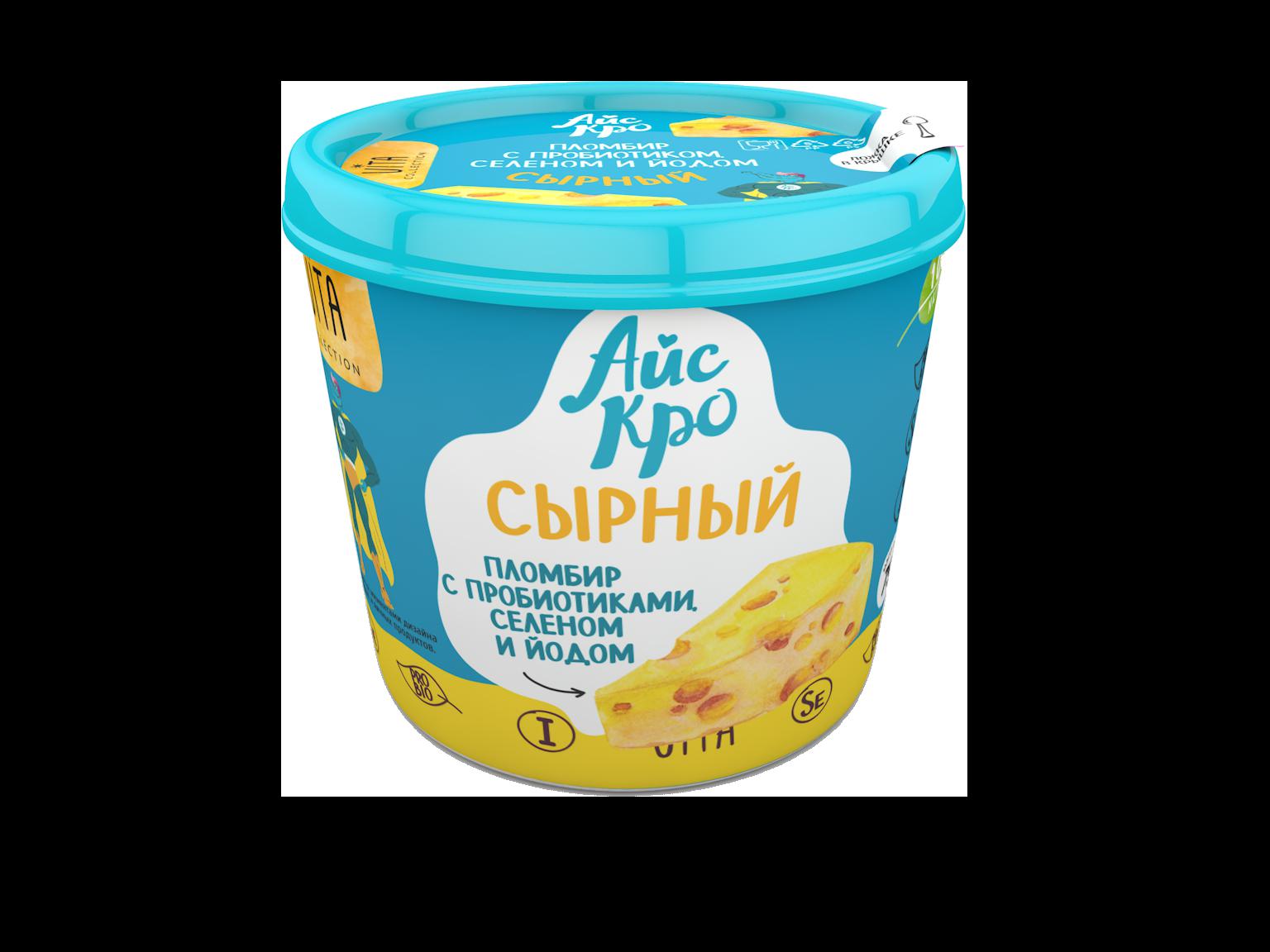 сырный пломбир мороженое айскро
