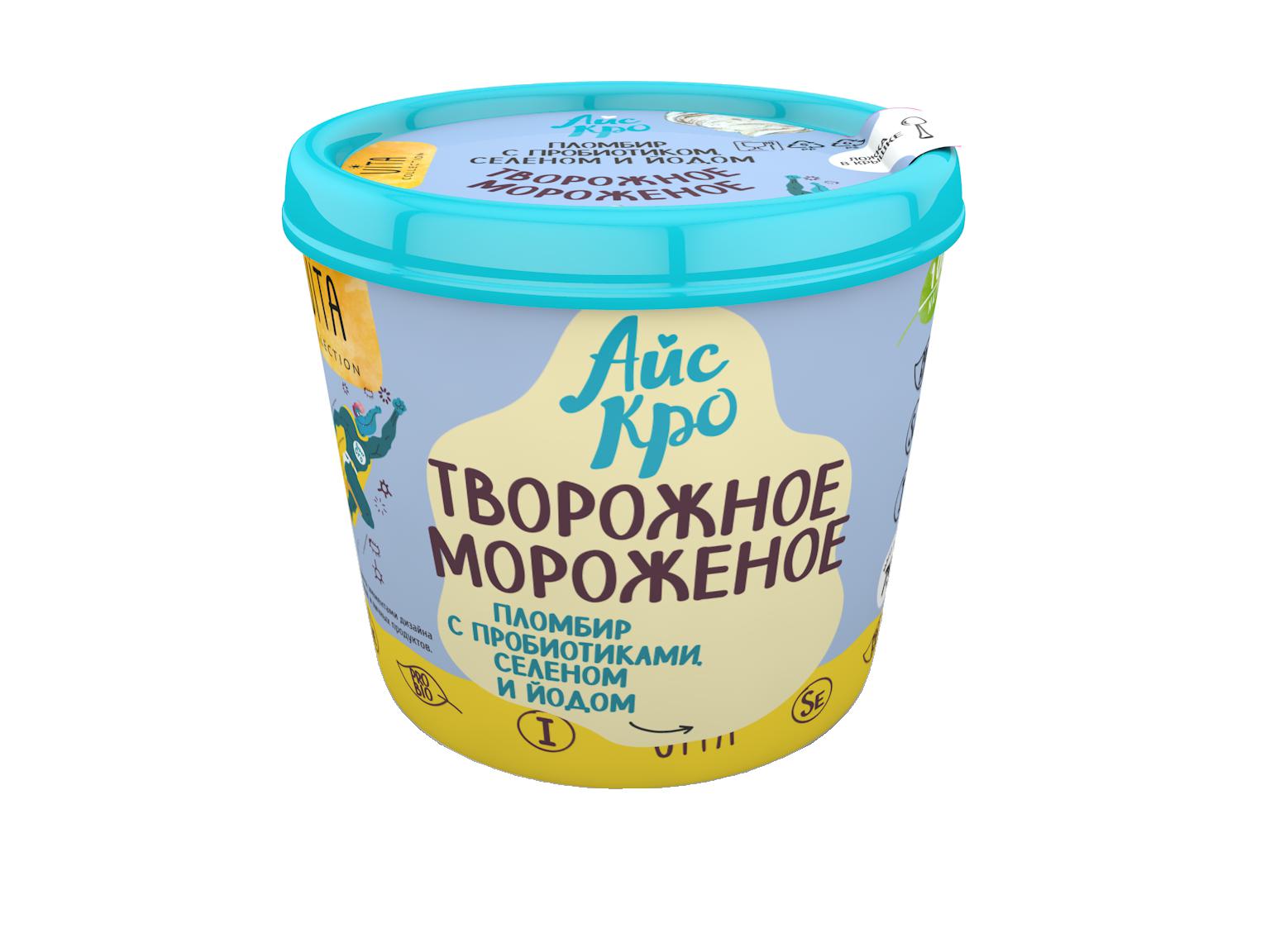 творожное мороженое айскро