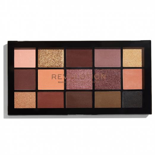 Палетка теней для век Re-loaded palette Velvet Rose от Makeup Revolution