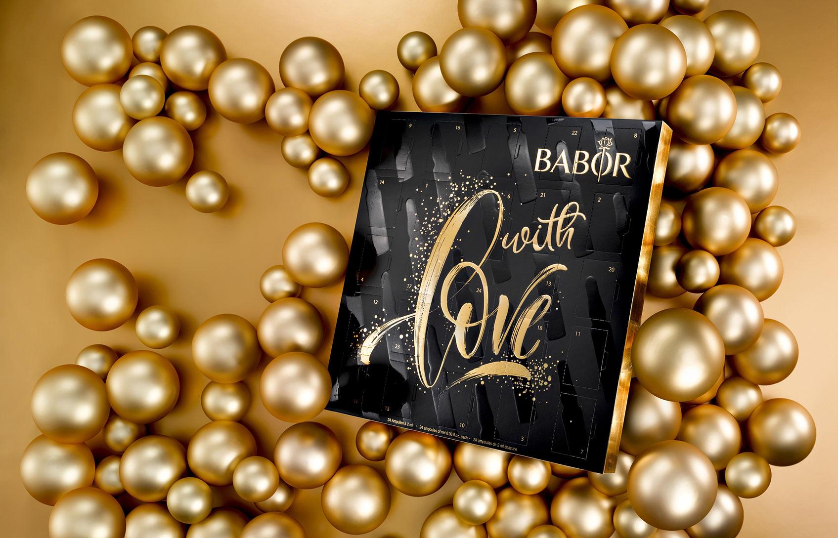 рождественский адвент-календарь babor