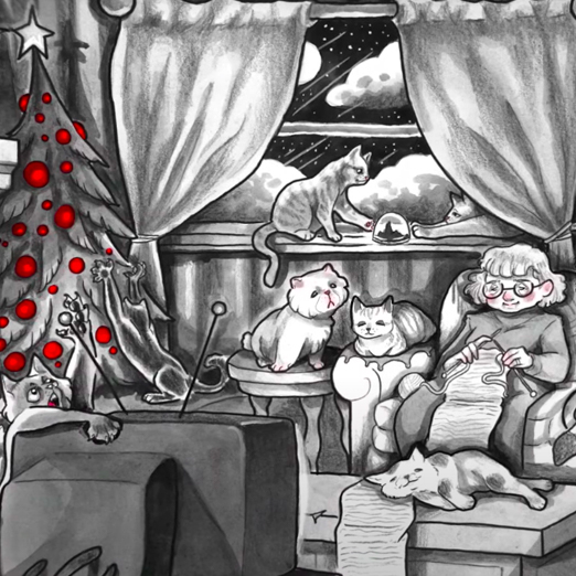 The White Stripes выпустили 90-минутный рождественский клип