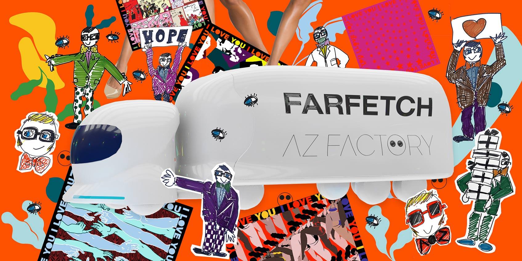 farfetch AZ Factory World Tour