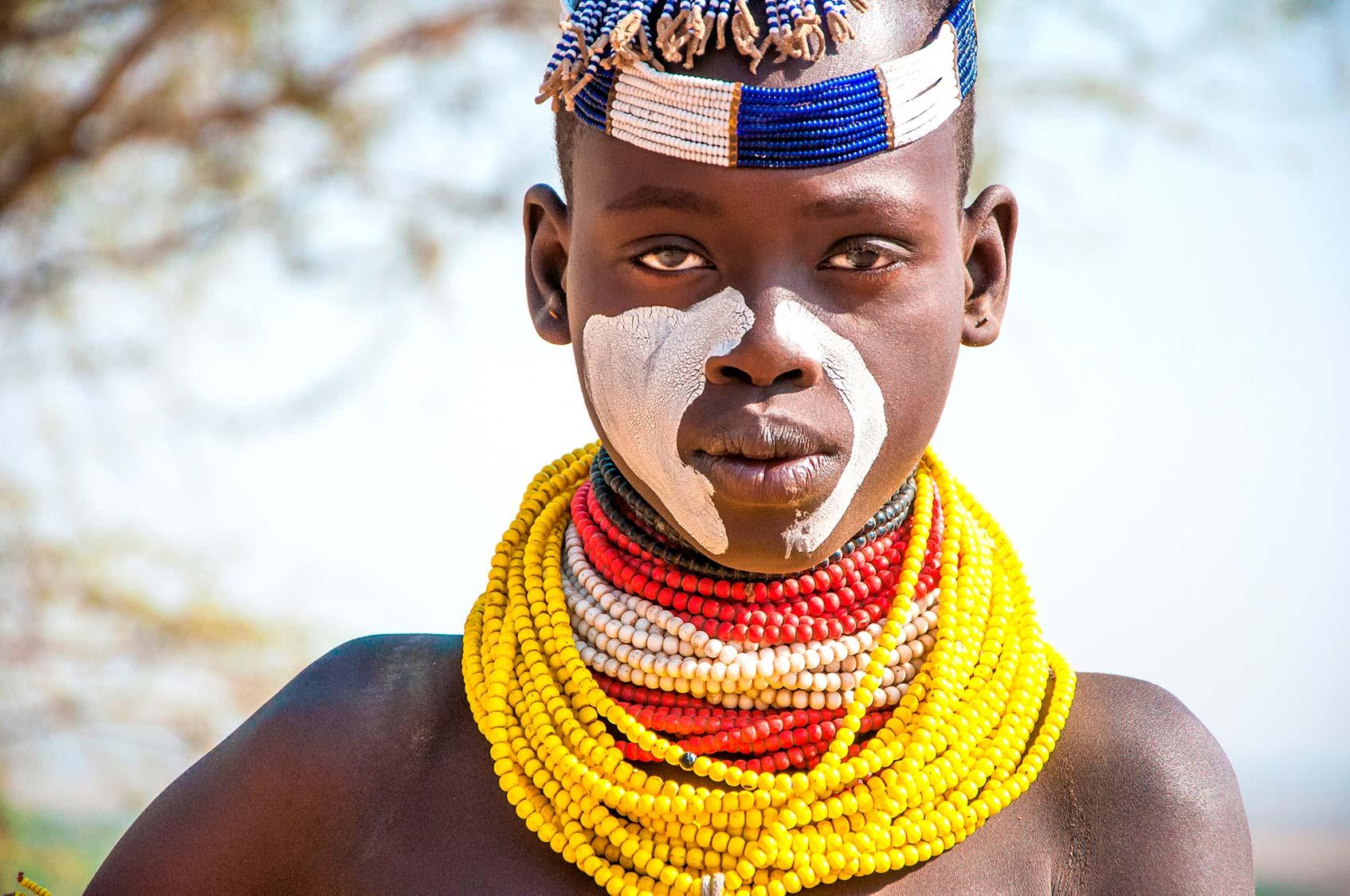 украшения у женщин в племенах эфиопии