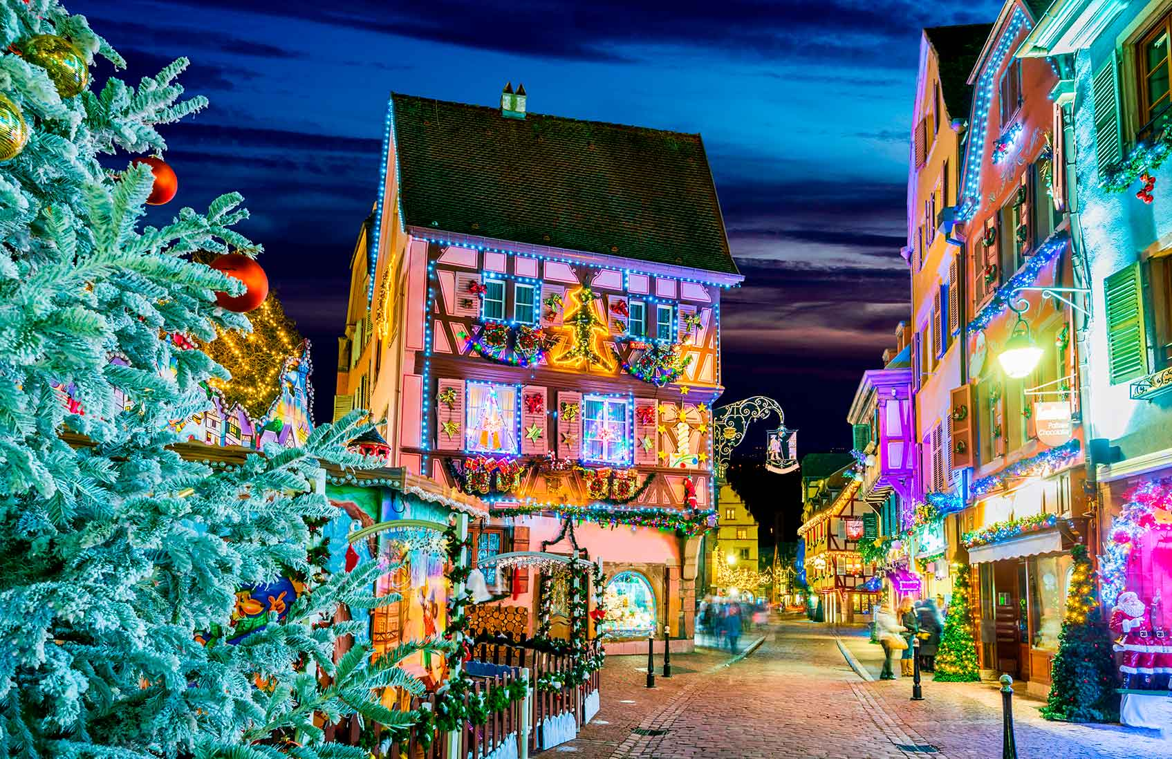 рождественский рынок кольмар
