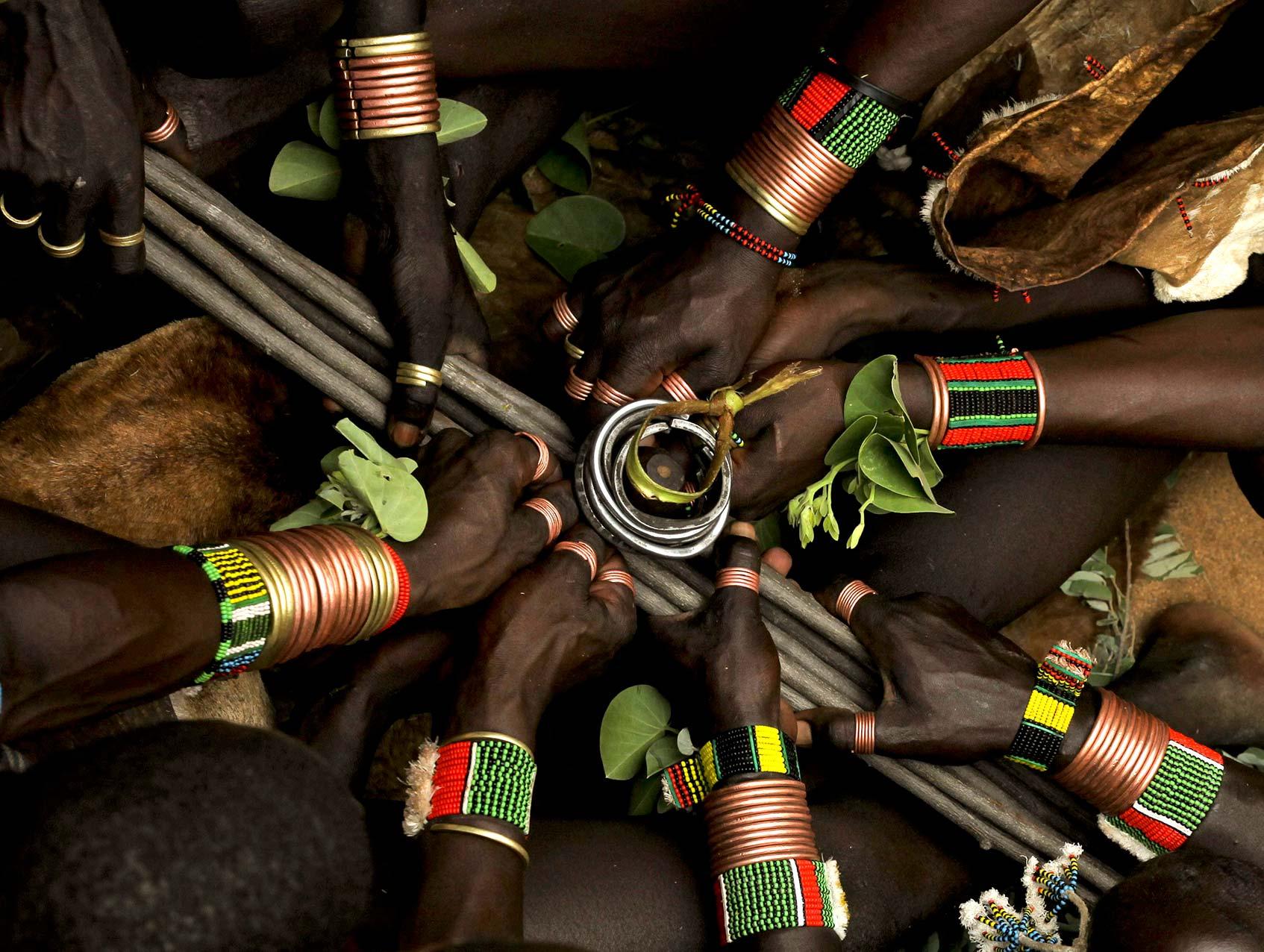 африканские племена в эфиопии
