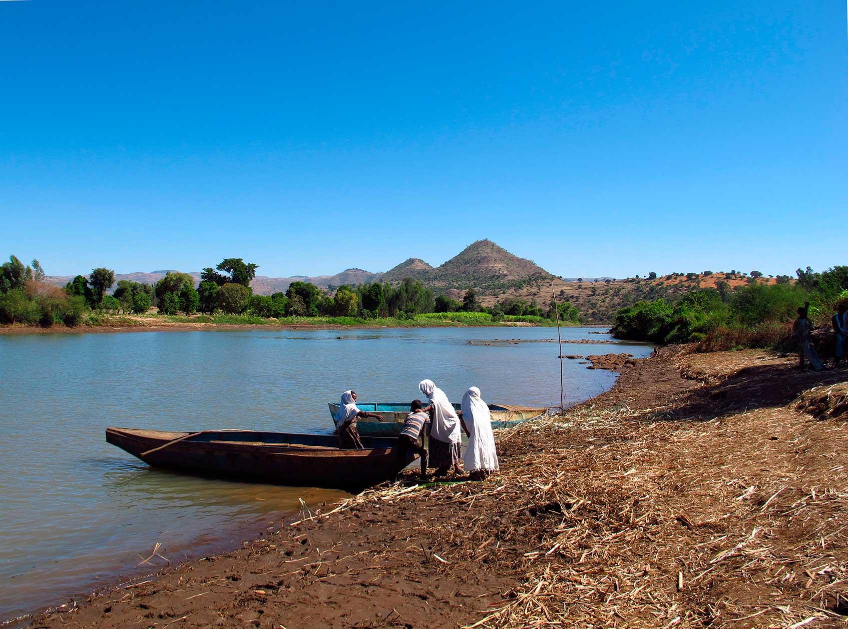 река голубой нил в эфиопии