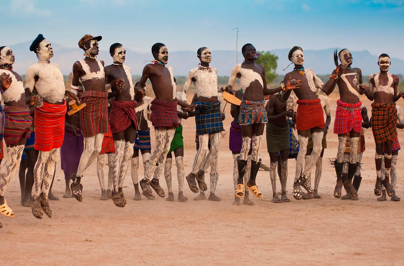 танцы в племенах