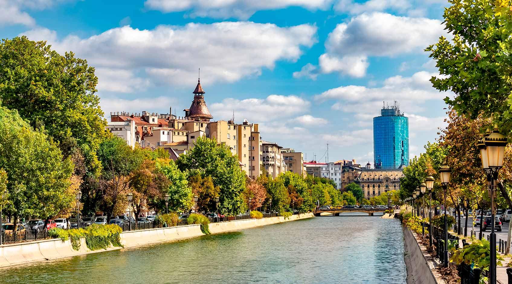 Бухарест река дымбовица