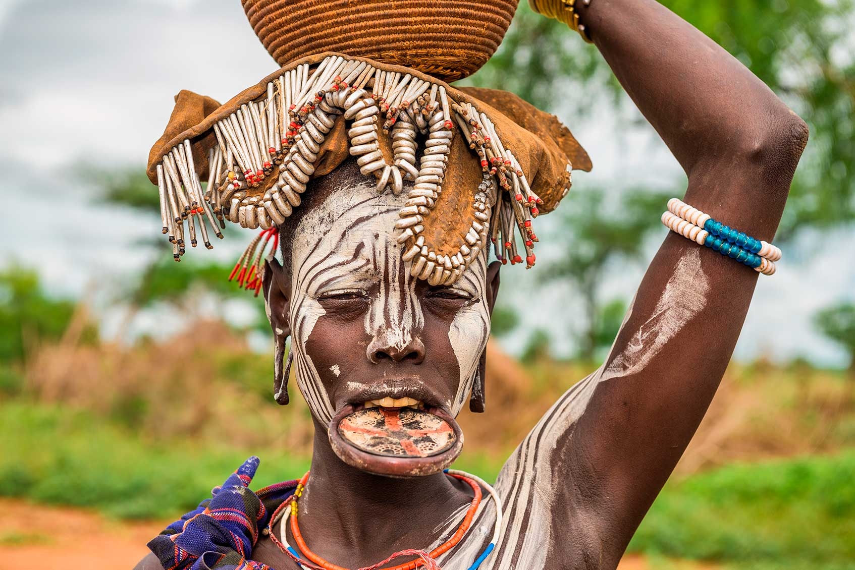 как одеваются женщины в племенах эфиопии