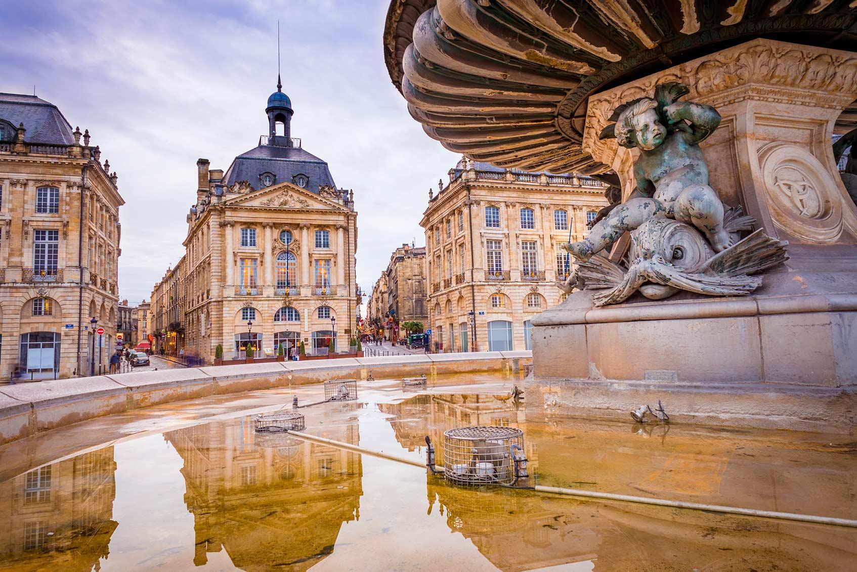 Place de la Bourse бордо