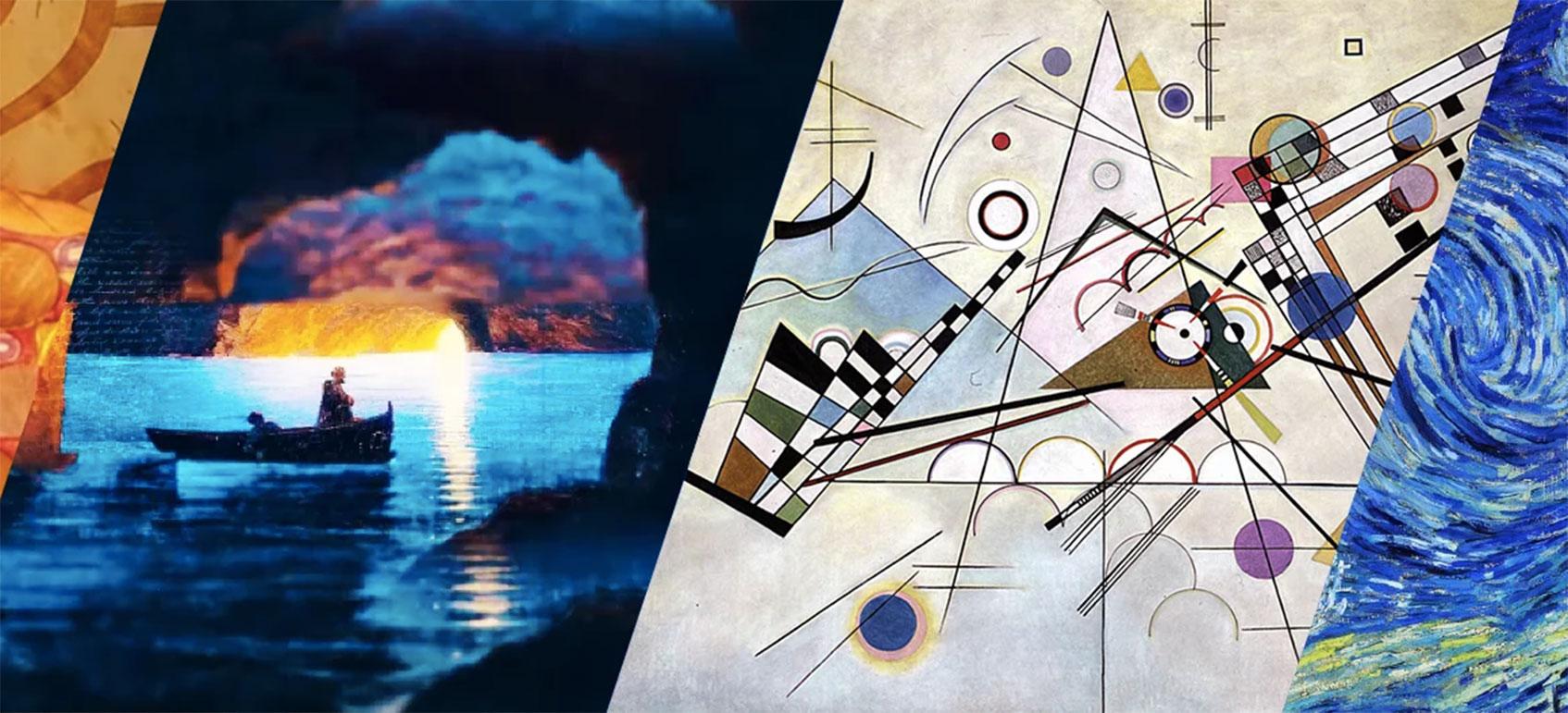 «Айвазовский. Кандинский. Ван Гог. Климт. Ожившие полотна»