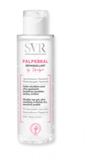 Мицеллярное желе для снятия макияжа с глаз Topialyse Palpebral от SVR
