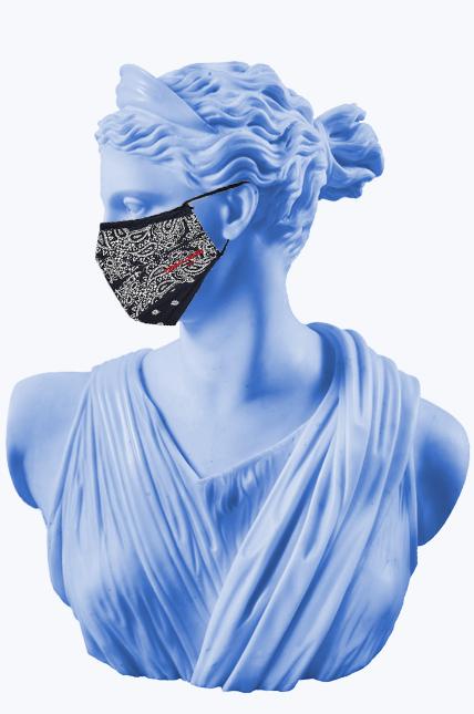 купить маску с принтом