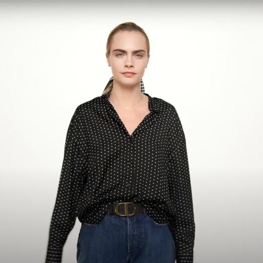 Кара Делевинь снялась в новой коллекции часов Dior